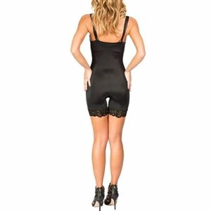 JACQUELYN OPEN BUST MID-THIGH BODY SHAPER